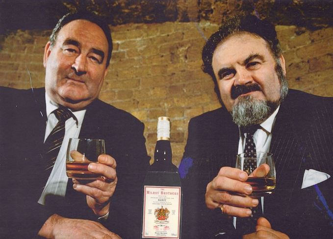 Wallace and Jack Milroy, former owners of Milroy's of Soho