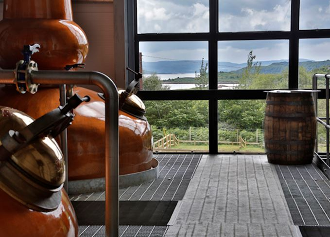Ardnamurchan stills and cask