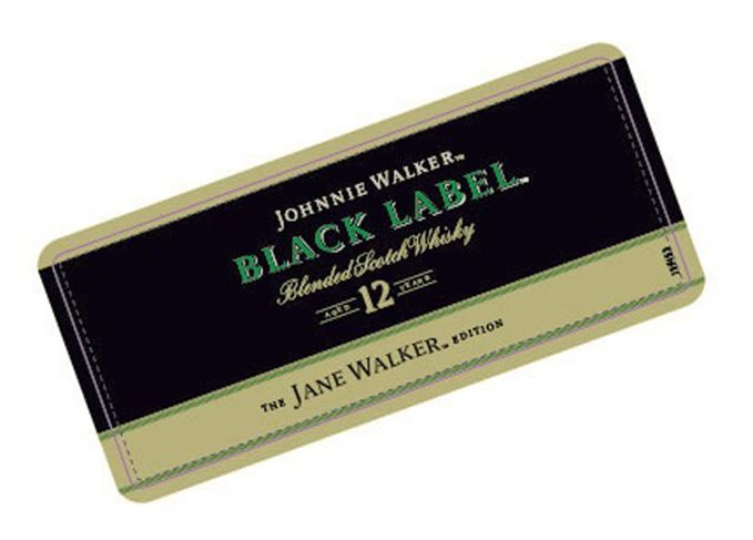 Johnnie Walker Jane Walker label
