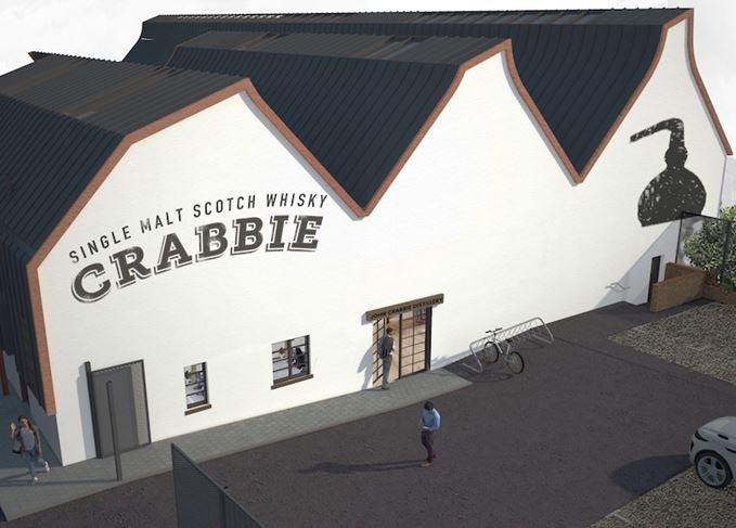 John Crabbie distillery artist's impression