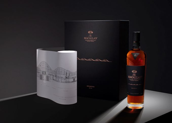Macallan Genesis gift box