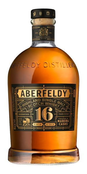 Aberfeldy 16 Years Old, Madeira Finish