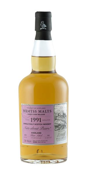 Blair Athol 1991, Nuts About Pears! (Wemyss Malt)
