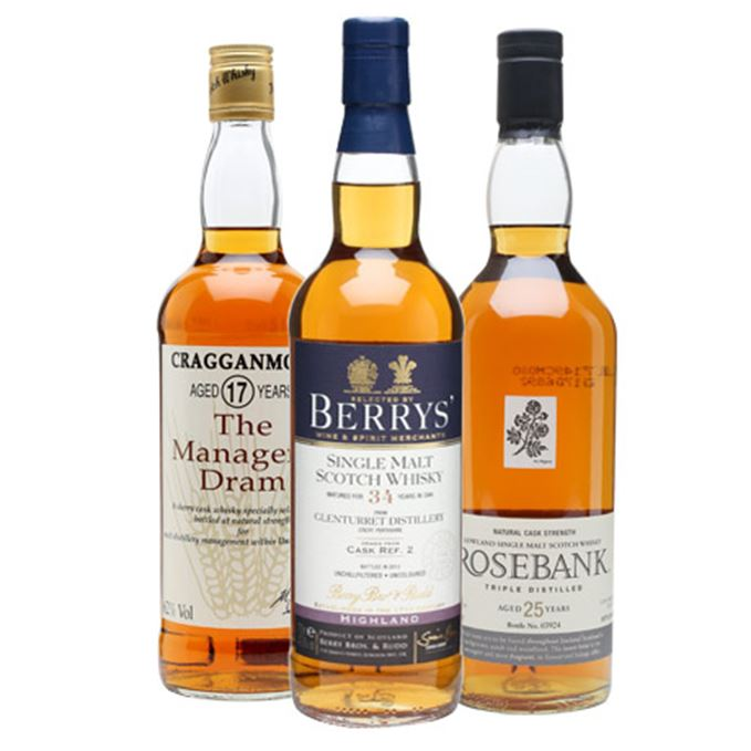 Rare whisky tasting notes Batch 17
