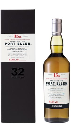 Port Ellen 32 Years Old (15th Release)