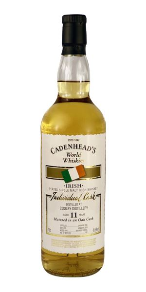 Cooley 11 Years Old, Distilled 1992 (Cadenhead)