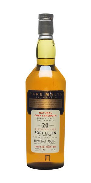 Port Ellen Rare Malts 20 Years Old (distilled 1978)