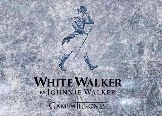 White Walker by Johnnie Walker's striding man logo