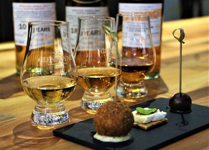 Glengoyne whisky and food matching