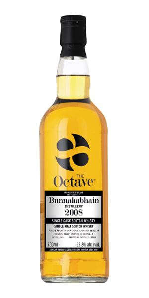 Bunnahabhain 9 Years Old, 2008, The Octave, Cask #3820134 (Duncan Taylor)