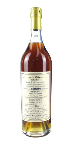 Ledaig 32 Years Old, Distilled 1972, Cask #8721 (Alambic Classique)