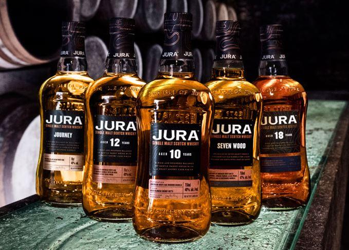 Jura's new whisky range