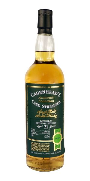 Benrinnes 21 Years Old (Cadenhead)