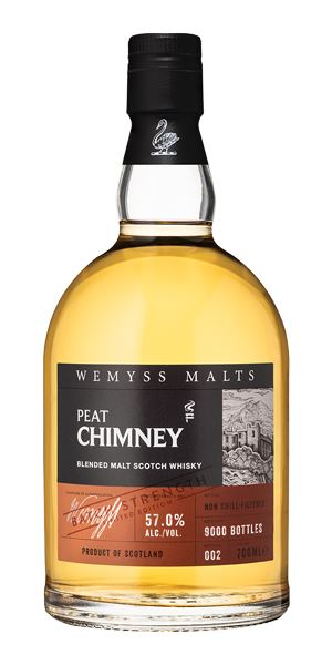 Peat Chimney Batch Strength, Batch 2 (Wemyss Malts)
