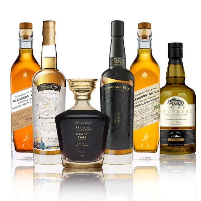 Batch 119: The Glenlivet, Johnnie Walker, Compass Box and Wolfburn