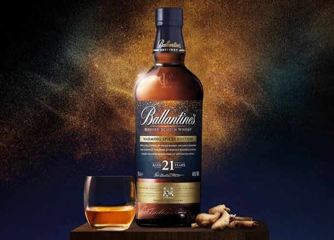 Ballantine's Warming Spices 21 Year Old Signature Flavour