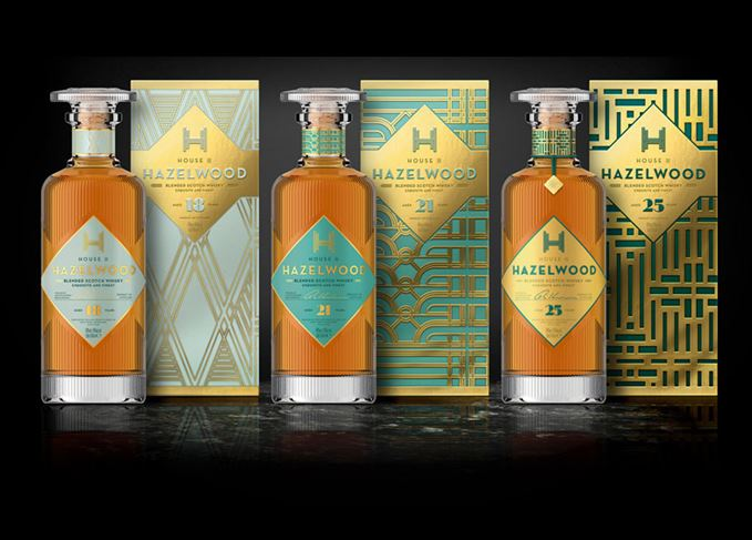 Hazelwood House whisky range