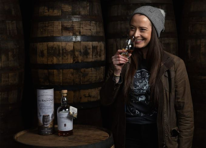 Gemma Paterson, global brand ambassador for Balvenie