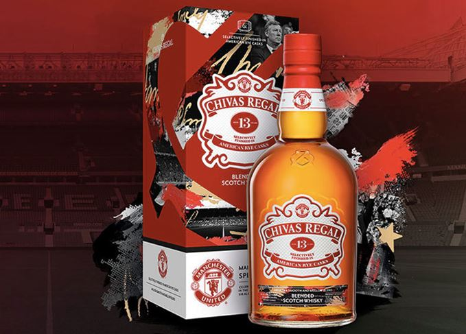 Chivas 13 Manchester United blended whisky