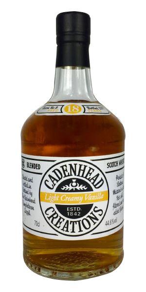 Cadenhead Creations, Light Creamy Vanilla, Batch 8