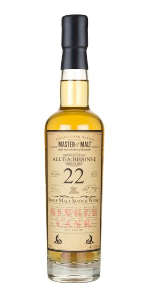 Allt-a-Bhainne 22 Years Old, 1993 (Master of Malt)