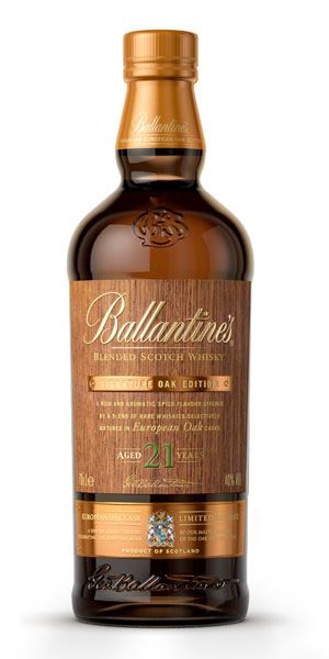 Ballantine's 21 Years Old Signature Oak – European Oak