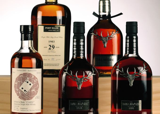Port Ellen, Dalmore and Hanyu