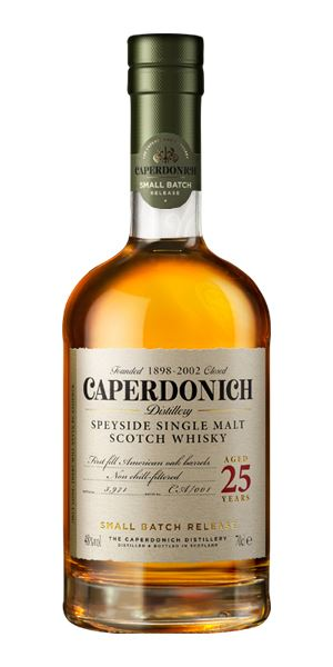 Caperdonich 25 Years Old Unpeated