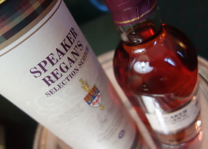 Speaker Regan's official Scotch whisky