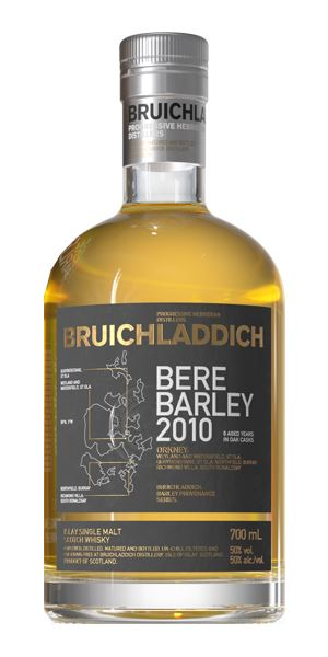 Bruichladdich Bere Barley 8 Years Old, Distilled 2010