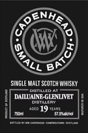 Dailuaine 19 Years Old Small Batch (Cadenhead)