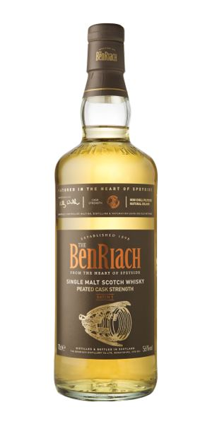 BenRiach Peated Cask Strength, Batch 1