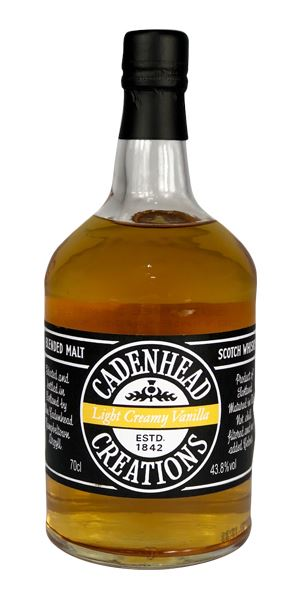 Cadenhead Creations Light Creamy Vanilla, 26 Years Old (Cadenhead)