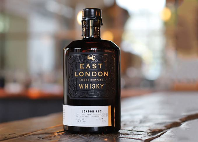 East London Liquor Company - ELLC – London Rye whisky