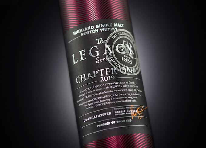 Glengoyne Legacy Series: Chapter One single malt whisky.
