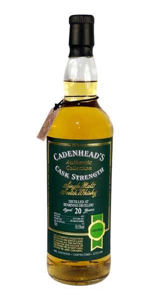 Benrinnes 20 Years Old, 1997 (Cadenhead)