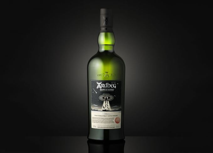 Ardbeg Supernova 2019 bottle