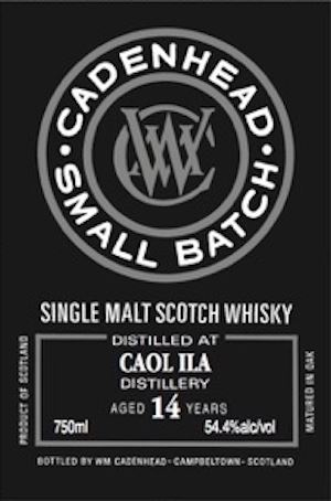 Caol Ila 14 Years Old Small Batch (Cadenhead)