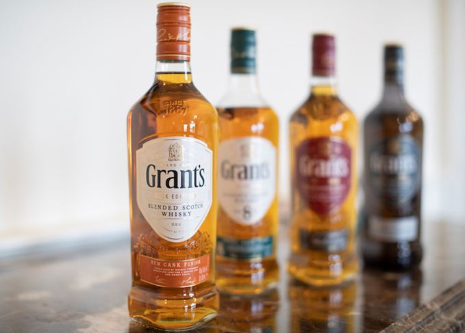 Grant's new whisky range