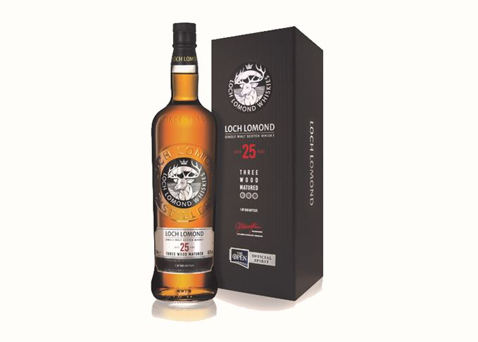 Loch Lomond Three Wood Matured 25-year-old