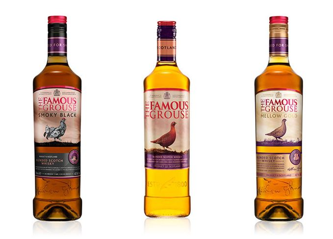 The Famous Grouse's core range