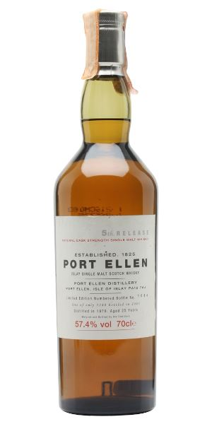 Port Ellen 1979, 25 Years Old, 5th Release