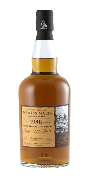 Invergordon 1988 'Rosy Apple Brulé' (Wemyss Malts)