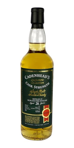 Highland Park 28 Years Old, 1989 (Cadenhead)