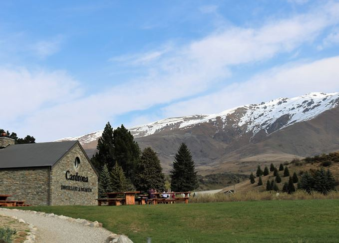 Cardrona distillery in New Zealand