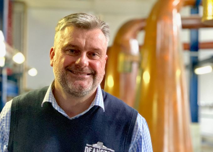 Stephen Woodcock, Distilleries Manager at Distell