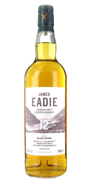Blair Athol 12 Years Old Single Cask (James Eadie)