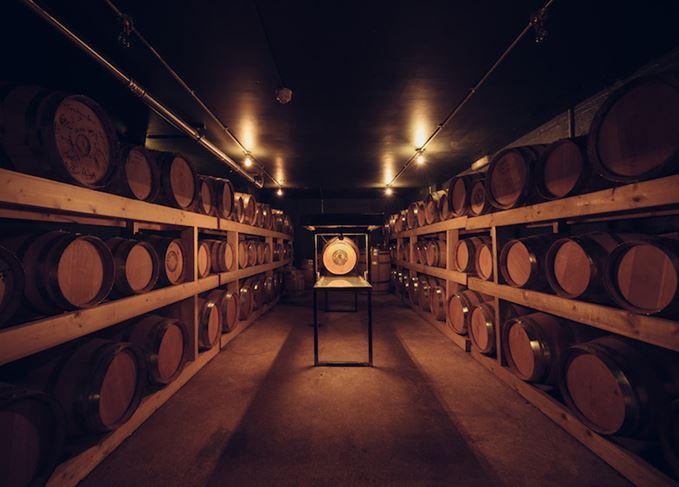 East London Liquor Company casks