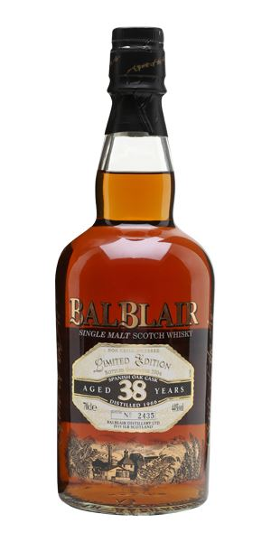 Balblair 38 Years Old, 1966 (bottled 2004)