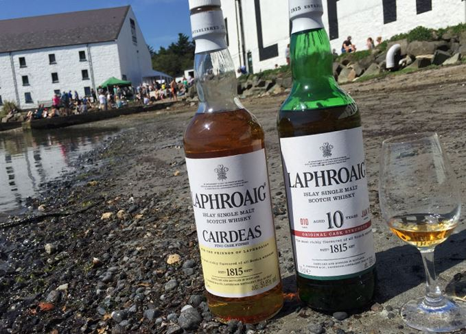 Laphroaig Cairdeas Fino and 10 Year Old Cask Strength Batch 10